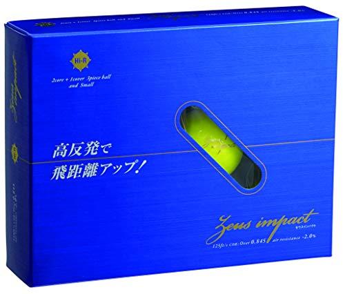 카스코(Kasco) 골프 볼 ZEUSIMPACT2 제우스 임팩트 고반발 옐로 / 오렌지 / 화이트