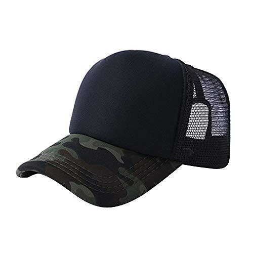 perfectCOCO Unisex Summer Baseball Caps Camouflage Mesh Hat Adjustable Visor Hats ()