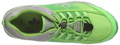 Lico Cliffside - Zapatillas de senderismo Unisex niños Verde - Grün (gruen/grau)