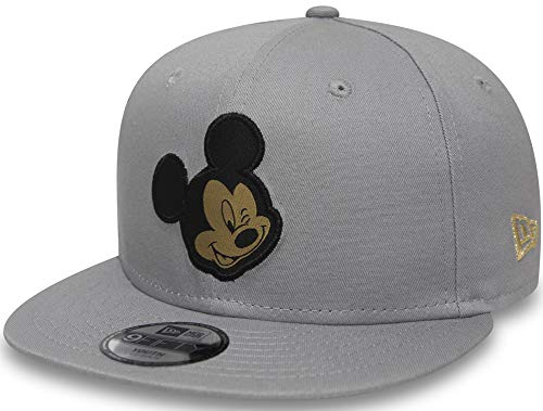 New Era Mickey Mouse Character 9fifty 950 Child Snapback Cap Kids Kinder  Children Grey 8664265c4bf