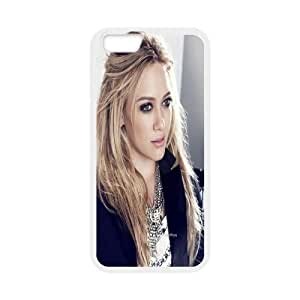 Printed Phone Case Hilary Duff For iPhone 6 Plus 5.5 Inch NC1Q03077