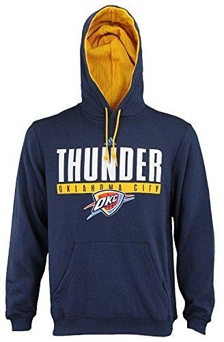 - Mens Adidas NBA Tipoff Playbook Pullover Hoodie, Oklahoma City Thunder, Navy