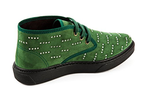 Natural World Verde 36 Stringate Donna Scarpe rrzxp