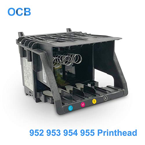 Printer Parts J3M72-60008 M0H91A for Hp 952 953 954 955 Printhead Print Head for Hp Officejet Pro 7740 8210 8702 8710 8715 8720 8725 8730 8740 - (Color: Original Brand New) ()