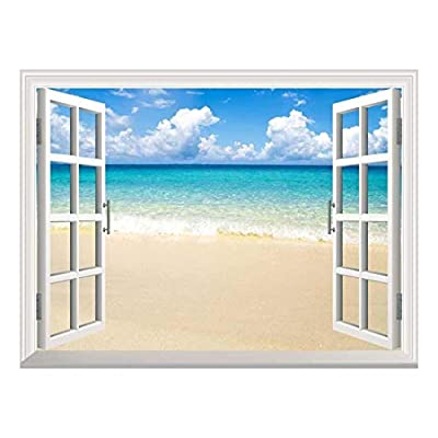 Removable Wall Sticker Wall Mural Beach and Tropical...