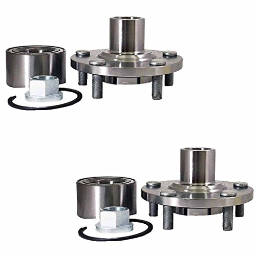 (Detroit Axle - Brand New (Both) Front Wheel Hub and Bearing Assembly for 01-02 Infiniti i30 - [02-04 Infiniti i35] - 2002-2006 Nissan Altima v6 - [2000-2008 Nissan Maxima] - 05-06 X-Trail)