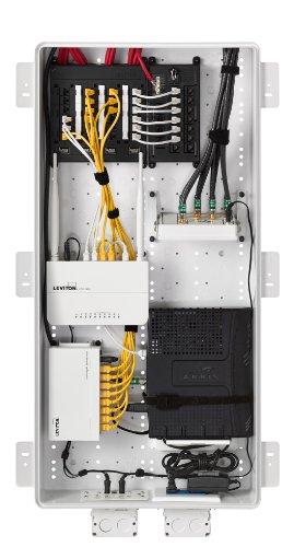 Leviton 49605 30w Rf Transparent Structured Media