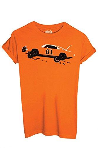LeeFilm Dress shirt Arancione By T Mush Generale Hazzard Your Style XOn0wP8k