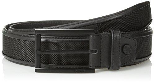 Tumi Leather Belt - TUMI Men's Ballistic Belt, Black, 32