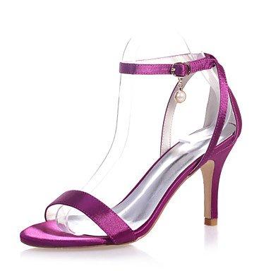 UK4 Colors Evening Party Stiletto EU37 5 CN37 5 Women'S More Satin US6 Shoes amp;Amp; Heel Sandals Available Shoes Open Wedding 7 5 Toe qROH8vURW