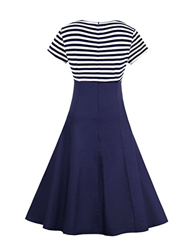 VKStar VKStar Blau1 Vestido Vestido para mujer Blau1 Vestido mujer Vestido VKStar Blau1 mujer para para VKStar para mujer IwgqOC1