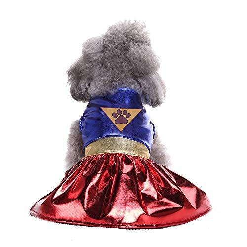 Bonaweite Pet Dog Cat Christmas Costume DC Heroes