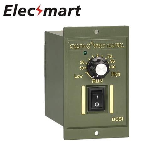 - Laliva Tool - 220V AC Gear Motor Speed Controller 180W Reversing Controller Single-Phase Motor Stepless Speed Regulation