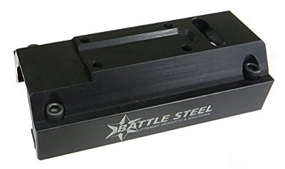 Battle Steel MP5 Ultra-Low Profile Integrated Mounting Platform, Trijicon MRO from Battle Steel
