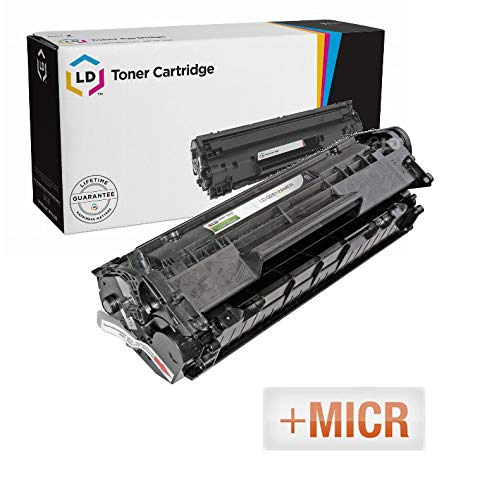 (LD Remanufactured MICR Toner Cartridge Replacement for HP 12A Q2612A (Black))