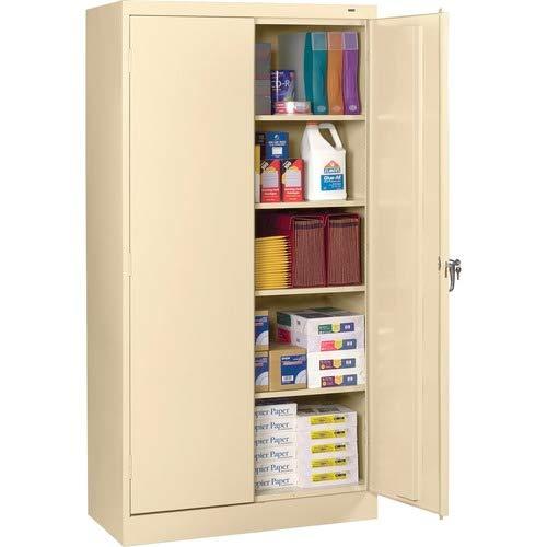 Tennsco 7224 24 Gauge Steel Standard Welded Storage Cabinet, 4 Shelves, 200 lbs Capacity per Shelf, 36