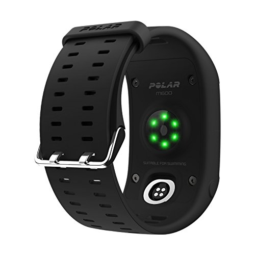 Polar M600 (Black) GPS Watch BUNDLE with Extra Band (White) & PlayBetter Wall/Car USB Charging Adapters   Sports GPS Smartwatch with Wrist-Based Heart Rate by PlayBetter (Image #4)