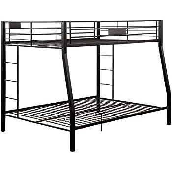 b92e64a3a16c Amazon.com  ACME Limbra Black Sand Full over Queen Bunk Bed  Kitchen ...