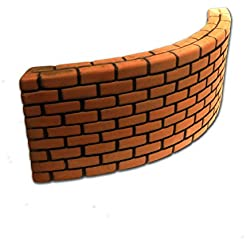 UP AQUA UA-1081L Brick Wall, Large