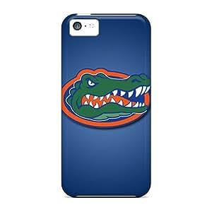 Tpu PopFront Shockproof Scratcheproof Florida Gators Hard Case Cover For Iphone 5c