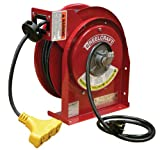 Reelcraft L-4050-163-9 Power Cord Reel 50 ft 16/3 13A Triple-Tap
