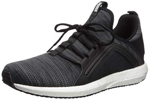 (PUMA Men's MEGA NRGY Knit Sneaker, Black-IronGate-White, 9.5 M US)