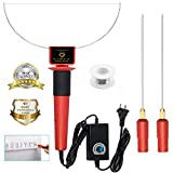 Perfect 300-400°C Strong Power 24W Electric Hot Foam Cutter Kit by Guritta, Hot Wire Styrofoam Cutting Knife, Heated Foam Carving Sculpting Tool Stainless Steel Wire Bowl Cutting Pen Engraver