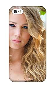 Flexible Tpu Back Case Cover For Iphone 5/5s - Jennifer Lawrence