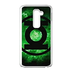 LG G2 Cell Phone Case White Green Lantern udj