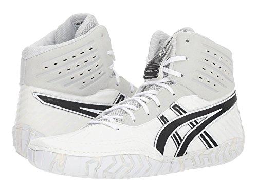 [asics(アシックス)] メンズランニングシューズ?スニーカー?靴 Aggressor 4 White/Black 11.5 (29cm) D - Medium
