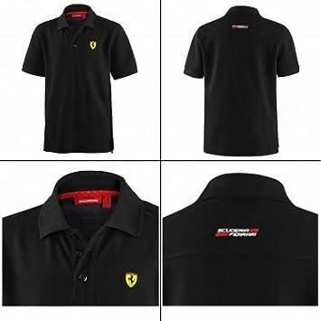 Spain Classic F1 Scuderia Ferrari Kids Polo Camiseta por Puma ...