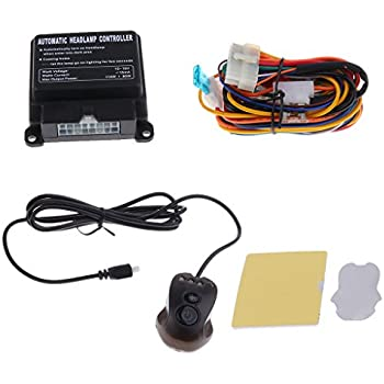 monkeyjack car auto headlight headlamp sensor control timed shutdown car  locating function