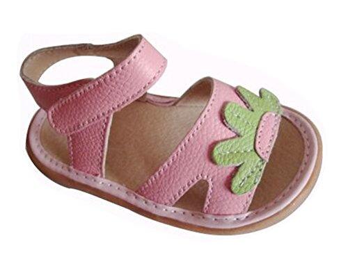Ohmais Kinder Baby Kleinkind Schuh Leder weich Pink