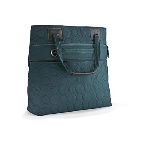 Thirty One Vary You Versatile Bag in Jade Quilted Dots - No Monogram (Vary You Bag Versatile)