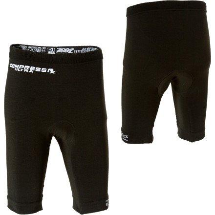 Zoot Compressrx Ultra Cycle Short, Black, 4 ()