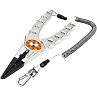 Booms Fishing X1 Aluminum Fishing Pliers Hook Remover...