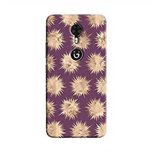 Cover It Up - Sand Star Purple Gionee A1 Hard Case