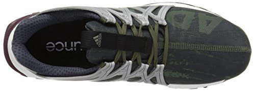 adidas Performance Herren Vigor Bounce M Trail Runner Base Grün / Schwarz / Weiß