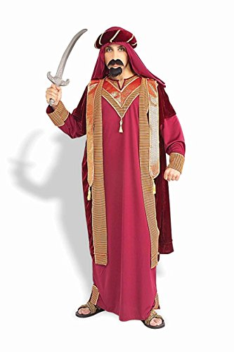 Mens Sultan Costumes (Forum Novelties Men's Adult Sultan Costume, Red/Gold, Standard)