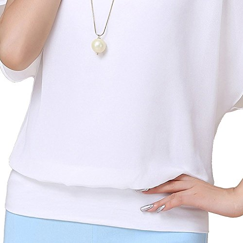 VIISHOW-Womens-Loose-Casual-Short-Sleeve-Chiffon-Top-T-shirt-Blouse
