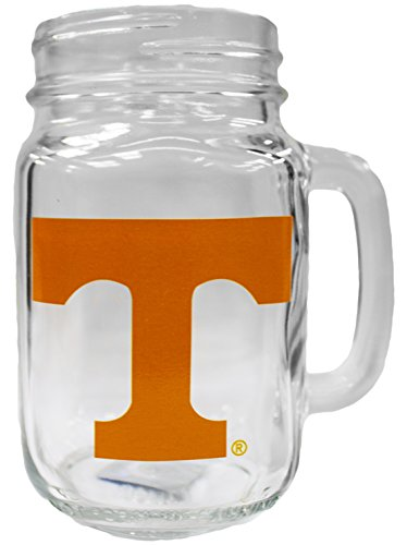 (NCAA Tennessee Volunteers 16oz Mason Jar Mug)