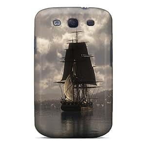 For Galaxy S3 Fashion Design Dusk Cases-SqM25347WhUr