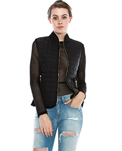 Quilted Puff Vest - 6