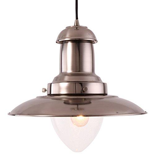 MSTAR Industrial Vintage E26 Oval Cage Pendant Light Copper Finished Metal Chandelier Ceiling Light Fixture for Dining Room/Kitchen/Restaurant/Living Room/Café (Oval cage)