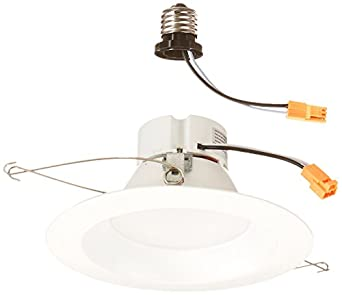 Morris 72602 led recessed lighting retrofit kit 5 6 size white morris 72602 led recessed lighting retrofit kit 5quot 6quot size aloadofball Gallery