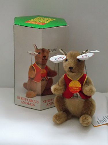 (Steiff Golden Age of the Circus 19cm Kangaroo Juggler 650536)