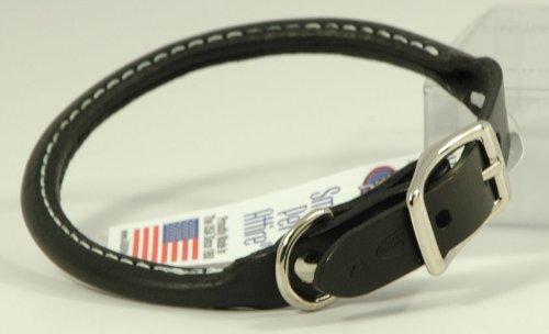 Auburn Round Collar - Black - 1'x22' - Fits 18'-22'