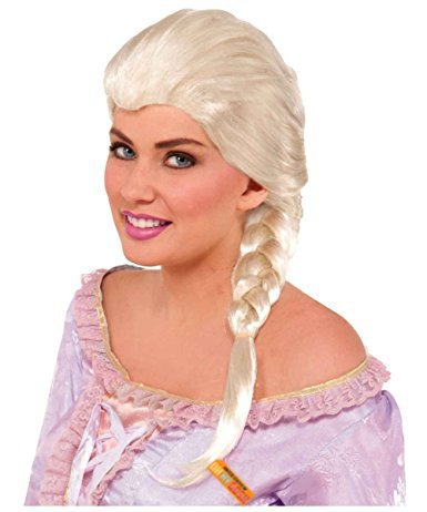 #1 Princess Wig - Elsa and Ariel Costume Wigs - Disney Quality Style (Elsa)