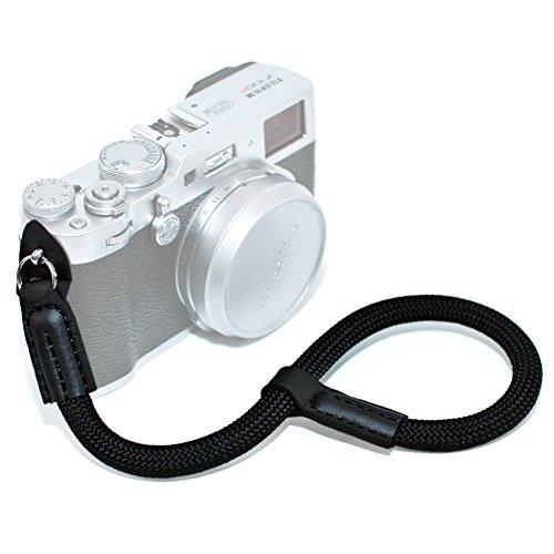 VKO Camera Wrist Strap, Hand Strap Compatible for Sony A6000 A6300 A6500 A5100 RXIR II RX10 IV X100F X-T20 X-T2 X100S X100T G9X G7X Mark II Camera Climbing Rope - Bag Camera Climbing