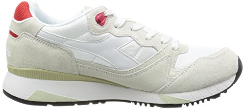 Diadora V7000 NYL II della scarpa da tennis Beige 501 170939 01 C0823
